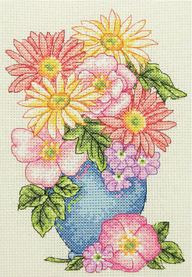 Anchor Starters - Counted Cross Stitch Kit - Floral Spray  - AK134