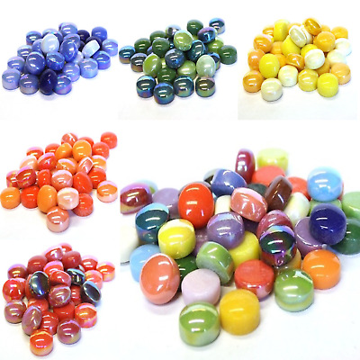 Glass Mosaic Tile Drops fro arts and Crafts - 100g Various Colours