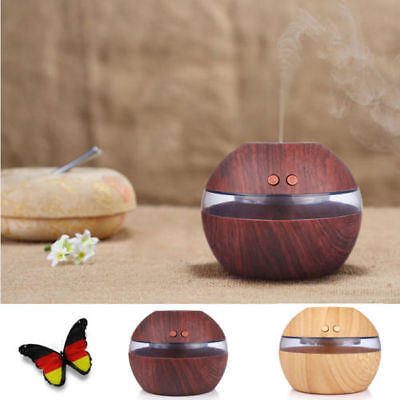 LED Essential Oil Aroma Diffuser Aromatherapy Ultrasonic Humidifier Fragrance