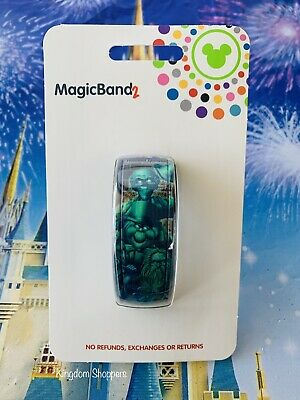NEW Disney Parks HAUNTED MANSION HITCHHIKING GHOSTS PURPLE Magicband 2