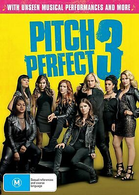 Pitch Perfect 3 with Digital Download DVD Region 4 NEW