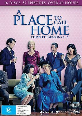 A Place to Call Home Complete Series 1 to Five Box Set DVD Region 4 NEW