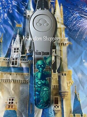 NEW Disney Parks HAUNTED MANSION HITCHHIKING GHOSTS GRAY Magicband 2