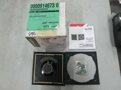 Omega Monogram Rotary Selector Switch OSWGT-12 W/ Gold Plated Contacts (NIB)