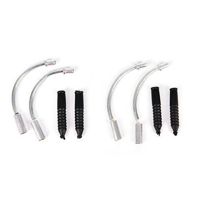 2set Bicycle V Brake Noodles Cable Guide And Plastic Pipe Hoses bike Brake  S EB
