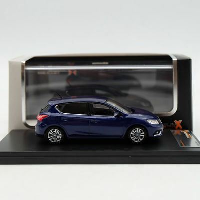 1:43 Premium X Nissan Pulsar 2015 PRD533J Limited Edition Collection Resin blue