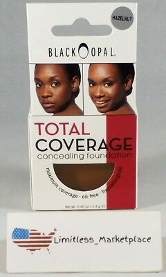 Black Opal Total Coverage Concealing Foundation - Hazelnut, 0.40 OZ.