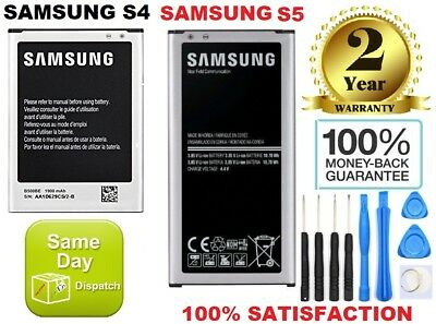 New brand OEM Genuine Replacement Battery For Samsung Galaxy S4 S5 and tools
