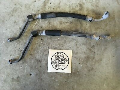 1986 Yamaha Fz600 Oil Cooler Lines / Pipes