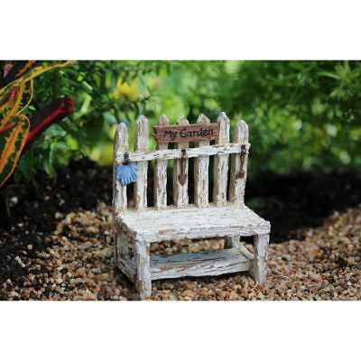 Fairy Garden Mini - Picket Fence Potting Bench