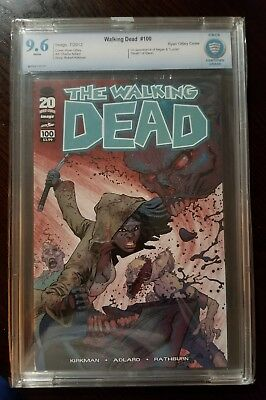 Walking Dead #100 RYAN OTTLEY Variant CBCS 9.6 1st App Negan Death of Glenn