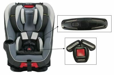Graco Head Wise 65 Toddler Child Car Seat Harness Chest Clip Buckle Safety Set