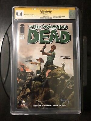 THE WALKING DEAD 1 WW St. Louis Variant CGC SS 9.4 Signed Arthur Suydam