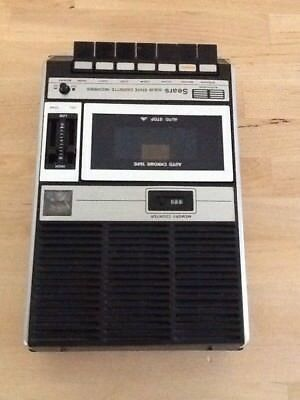 Vintage 2168 Sears Solid State Cassette Tape Player/recorder