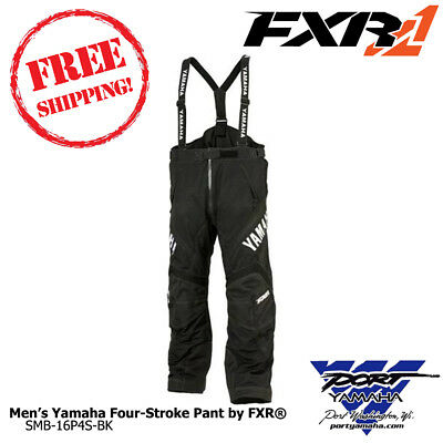 Men's Yamaha Four-Stroke Pant by FXR Sizes: MD LG XL 2XL SMB-16P4S-BK