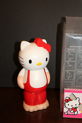 HELLO KITTY 3 Chamber Plastic Piggy Bank