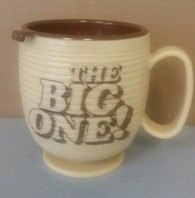 Vintage Dunkin Donuts The Big One Travel Coffee Mug