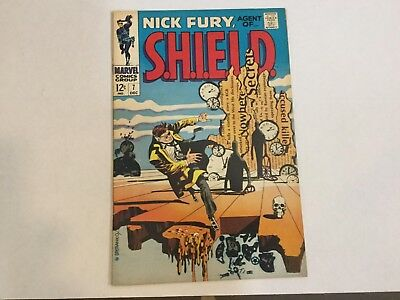 Nick Fury Agent of Shield #7 Fine Plus VF minus Oct 68