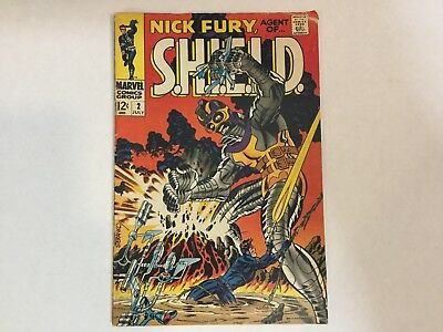 Nick Fury Agent of Shield #2 VG July 68