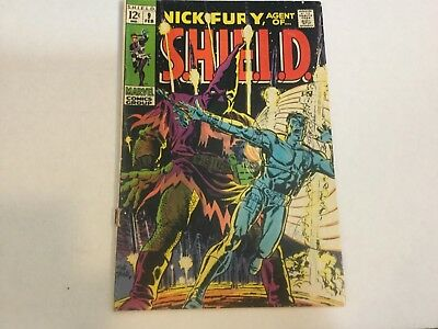 Nick Fury Agent of Shield #9 VG minus  staple wear