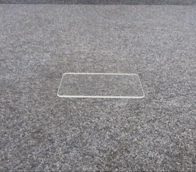 Thick Rectangle Clear Lens (NEW OLD STOCK)