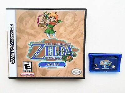 Legend of Zelda - Oracle of Ages GBA Edition Custom Color Gameboy Advance (USA)