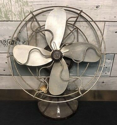 Vintage Barcol Bakelite Electric Fan Barber-Colman Co.