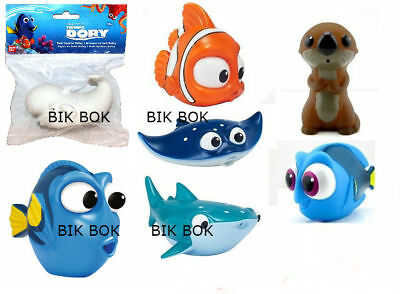 Finding Dory Bath Squirter Toys Nemo,Dory,Destiny,Marlin,Sea Otter,Mr Ray