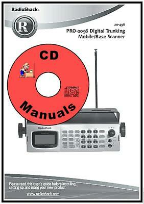 radioshack pro 650 cd owner s manual 2000 650 radio scanner book rh picclick com Radio Shack Pro 2053 Radio Shack Electronic Parts Catalog