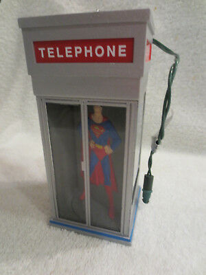 Hallmark Christmas Ornament Superman Light Motion 1995 Working Magic QLX7309