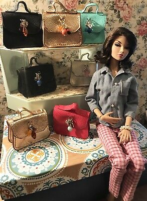 "TONNER,ELLOWYNE,POPPY PARKER,16"" DOLL, ACCESSORIES, BAG,PURSE.. NEW..(no doll),"