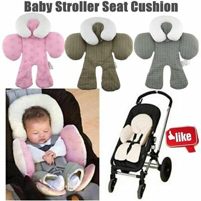 Safety Baby Kid Stroller Pram Pushchair Two Sided Car Seat Cushion Pad Liner QV
