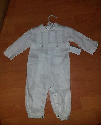 Besos By Kissy Kissy Alexander  Christening Suit 3-6 month