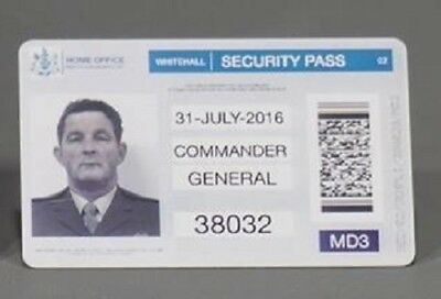 THE FOREIGNER SCREEN USED Whitehall Security Id Pass 38032 (Jackie Chan)