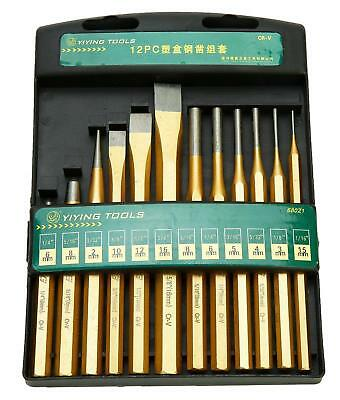 12pcs Cold Punch and Chisel Tool Set