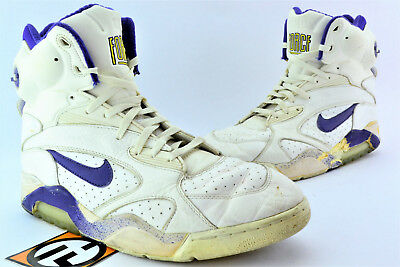 to buy wholesale price latest NIKE AIR FORCE 180 Pump Midnight Purple Goldenrod Size 13 ...