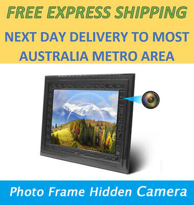 HD 720P Photo Frame Spy Camera Night Vision PIR Motion Activated 2 Year Standby