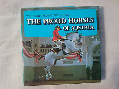 "Vintage Collectable ""Proud Horses of Australia"" Super 8 Film Color Walt Disney"