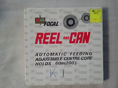 Vintage FOCAL Reel and Can Automatic Film Feeding Holds 60 meters