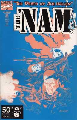 Comic Book The Nam #56 Marvel May 1991