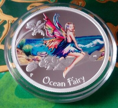 Tuvalu 50 cents 2016 Ocean Fairy  Silver 1/2 oz  Blister  mint. 5000