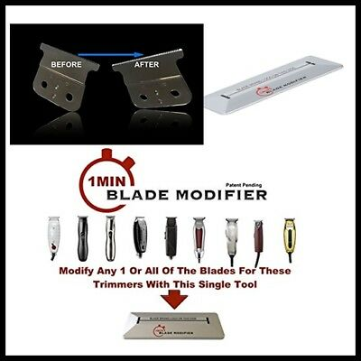 TRIMMER BLADE MODIFIER Professional Trimming Barber Tool 1Min Blade Modifier