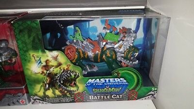 Mecha Bite Battlecat Motu OVP Snake Men He-man Battle Cat
