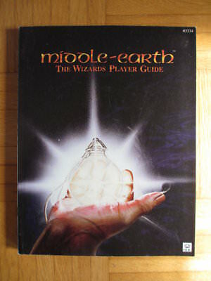 Middle Earth THE WIZARDS PLAYER GUIDE METW Rule Book card ccg lotr MECCG ICE lor
