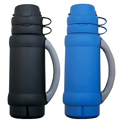 """Thermos 3410USP """"Add-a-cup"""" Beverage Bottle 35 OZ. (colors may vary) - 2 Pack"""