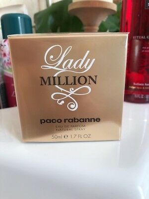 Lady Million von Paco Rabanne Eau de Perfume Spray 50ml für Damen