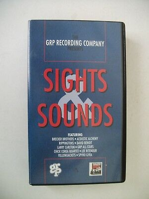 The GRP Recording Company presents Sight & Sounds - VHS