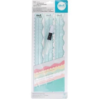 We R Memory Keepers Tear Guides 4pcs 660082