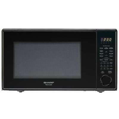 Sharp Stainless Steel LED Display 1.8-cu ft 1100-Watt Countertop Microwave Oven
