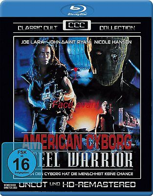 American Cyborg Steel Warrior (1994) IMPORT Blu-Ray BRAND NEW Free Ship
